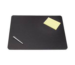 Artistic Products, LLC 5100-6-1 Sagamore Desk Pad w/Decorative Stitching, 36 x 20, Black by ARTISTIC LLC