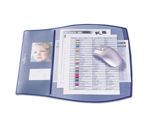 Durable Office Products Corp. 7209-07 Work Pad, 3 Overlays, 17 1/4 x 15 1/4, Dark Blue by DURABLE OFFICE PRODUCTS CORP.