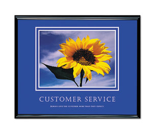 Advantus Corporation 78027 Customer Service Framed Motivational Print, 30 x 24 by ADVANTUS CORPORATION