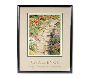 "Advantus Corporation 78032 ""Challenge"" Framed Motivational Print, 24 x 30 by ADVANTUS CORPORATION"