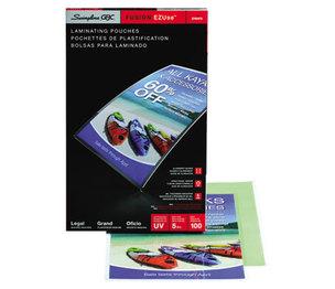 Swingline 3740473 Fusion EZUse Premium Laminating Pouches, 5 mil, 9 x 14 1/2, 100/Box by SWINGLINE