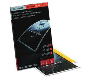 Swingline 3200720 Fusion EZUse Premium Laminating Pouches, 3 mil, 11 1/2 x 17 1/2, 100/Box by SWINGLINE