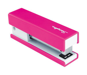 ACCO Brands Corporation S7087825 Half Strip Fashion Stapler, 20-Sheet Capacity, Pink by ACCO BRANDS, INC.
