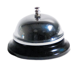 "Advantus Corporation CB10000 Call Bell, 3-3/8"" Diameter, Brushed Nickel by ADVANTUS CORPORATION"