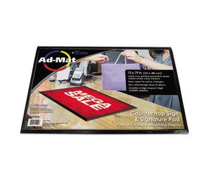 Artistic Products, LLC 25200 AdMat Counter Mat, 13 x 19, Black Base by ARTISTIC LLC