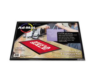 Artistic Products, LLC 25201 AdMat Counter Mat, 11 x 17, Black Base by ARTISTIC LLC
