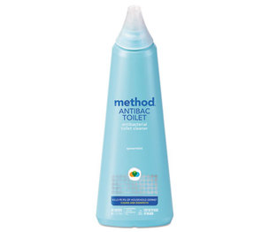 Method Products, Inc 01221 Antibacterial Toilet Cleaner, Spearmint, 24 oz Bottle by METHOD PRODUCTS INC.
