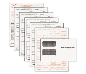 Tops Products 22905KIT Tax Forms/1099 Misc Tax Forms Kit with 24 Forms, 24 Envelopes, 1 Form 1096 by TOPS BUSINESS FORMS