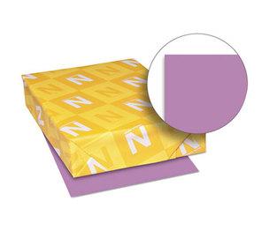 Neenah Paper, Inc 26771 Exact Brights Paper, 8 1/2 x 11, Bright Purple, 50 lb, 500 Sheets/Ream by NEENAH PAPER