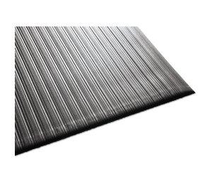 Millennium Mat Company, LLC 24030502 Air Step Antifatigue Mat, Polypropylene, 36 x 60, Black by MILLENNIUM MAT COMPANY