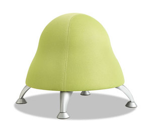 "Safco Products 4755GS Runtz Ball Chair, 12"" Diameter x 17"" High, Sour Apple Green by SAFCO PRODUCTS"