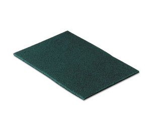 3M 96CC Commercial Scouring Pad, 6 x 9, 10/Pack by 3M/COMMERCIAL TAPE DIV.