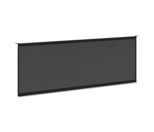 BASYX BSXBMPT48MOD Multipurpose Table Modesty Panel, 48w x 5/8d x 10h, Black by BASYX