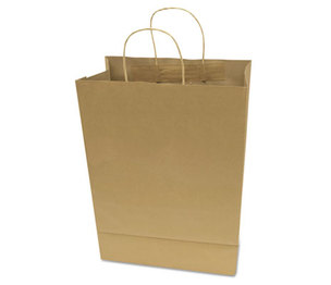 Consolidated Stamp Manufacturing Company 091565 Premium Small Brown Paper Shopping Bag, 50/Box by CONSOLIDATED STAMP