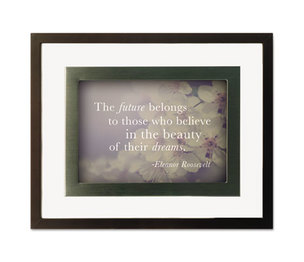 DAX MANUFACTURING INC. N1860H7T Nature Collection Motivational Frame, One Frame/Four Prints, 10 3/4 x 8 3/4 by DAX MANUFACTURING INC.