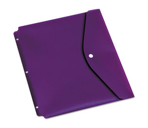 Cardinal Brands, Inc 14950 Dual Pocket Snap Envelope, 11 x 8 1/2, Assorted, 5/Pack by CARDINAL BRANDS INC.