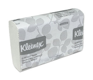 Kimberly-Clark Corporation 04442 Slimfold Paper Towels, 7 1/2 x 11 3/5, White, 90/Pack, 24 Packs/Carton by KIMBERLY CLARK