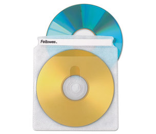 Fellowes, Inc 90661 Two-Sided CD/DVD Sleeve Refills for Softworks File, 25/Pack by FELLOWES MFG. CO.