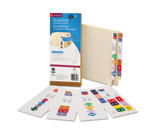 SMEAD MANUFACTURING COMPANY 66003 Smartstrip Labeling System Starter Kit w/CD Software & 50 Label Forms, Laser by SMEAD MANUFACTURING CO.