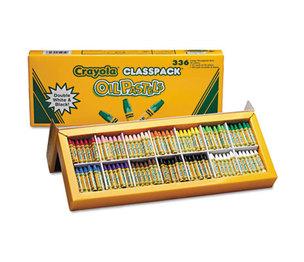 BINNEY & SMITH / CRAYOLA 524629 Oil Pastels,12-Color Set, Assorted, 336/Pack by BINNEY & SMITH / CRAYOLA