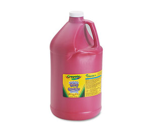 BINNEY & SMITH / CRAYOLA 542128038 Washable Paint, Red, 1 gal by BINNEY & SMITH / CRAYOLA