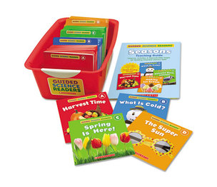 Scholastic 556150 Guided Science Readers, Seasons, Grades Pre K-2 by SCHOLASTIC INC.