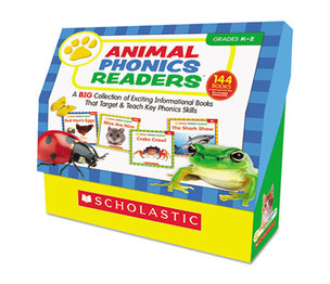 Scholastic 557814 Animal Phonics Readers, Grades K-2 by SCHOLASTIC INC.
