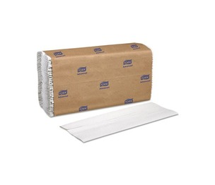 SCA TISSUE CB520 C-Fold Towels, White, 12 3/4 x 10 1/8, 1-Ply, 150/Pack, 16 Packs/Carton by SCA TISSUE