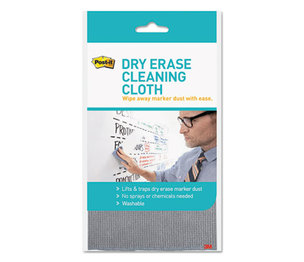 "3M DEFCLOTH Dry Erase Cloth, Fabric, 10 5/8""w x 10 5/8""d by 3M/COMMERCIAL TAPE DIV."