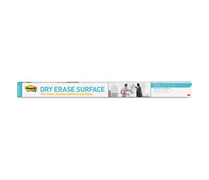 3M DEF8X4 Dry Erase Film with Adhesive Backing, 96 x 48, White by 3M/COMMERCIAL TAPE DIV.