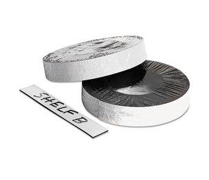 """BAUMGARTENS BAU66151 Dry Erase Magnetic Label Tape, White,1"""" x 50 ft. by BAUMGARTENS"""
