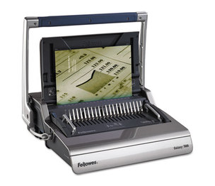 Fellowes, Inc FEL5218201 Galaxy Comb Binding System, 500 Sheets, 20 7/8 x 17 3/4 x 6 1/2, Gray by FELLOWES MFG. CO.