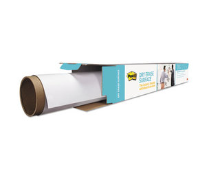 3M DEF3X2 Dry Erase Film with Adhesive Backing, 36 x 24, White by 3M/COMMERCIAL TAPE DIV.