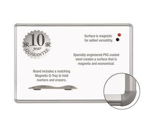 BALT INC. 219PC Magne-Rite Magnetic Dry Erase Board, 36 x 48 White, Silver Frame by BALT INC.