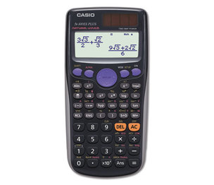 Casio Computer Co., Ltd FX300ESPLUS FX-300ESPLUS Scientific Calculator, 10-Digit, Natural Textbook Display, LCD by CASIO, INC.