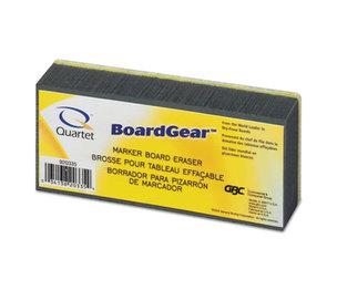 Quartet 920335 BoardGear Dry Erase Board Eraser, Foam, 5w x 2 3/4d x 1 3/8h by QUARTET MFG.
