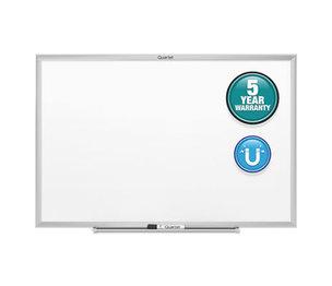 Quartet SM531 Classic Magnetic Whiteboard, 24 x 18, Silver Aluminum Frame by QUARTET MFG.