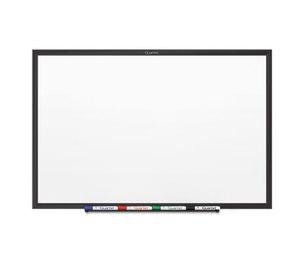 Quartet SM31B Classic Magnetic Whiteboard, 24 x 18, Black Aluminum Frame by QUARTET MFG.