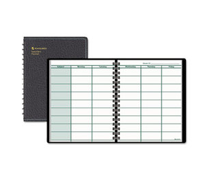 AT-A-GLANCE 80-155-05-07 Undated Teachers Planner, 10 7/8 x 8 1/4, Black by AT-A-GLANCE