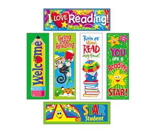 TREND ENTERPRISES, INC. T12907 Bookmark Combo Packs, Reading Fun Variety Pack #2, 2w x 6h, 216/Pack by TREND ENTERPRISES, INC.