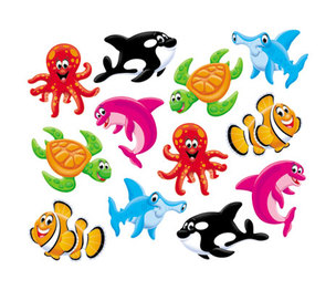 TREND ENTERPRISES, INC. T10998 Classic Accents Variety Pack, Sea Buddies, 6 x 7.88 by TREND ENTERPRISES, INC.