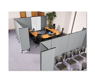 BALT INC. 74771 GreatDivide Wall System Fabric Add-On Panel, 64w x 3d x 96h, Gray by BALT INC.