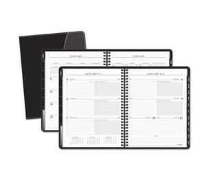AT-A-GLANCE 70-545-05 Executive Weekly/Monthly Appointment Book, 6 7/8 x 8 3/4, White, 2016-2017 by AT-A-GLANCE