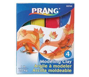 DIXON TICONDEROGA COMPANY 00740 Modeling Clay Assortment, 1/4 lb each Blue/Green/Red/Yellow, 1 lb by DIXON TICONDEROGA CO.