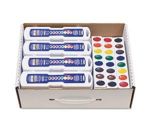 DIXON TICONDEROGA COMPANY DIX08020 Professional Watercolors, 8 Assorted Colors,Masterpack, 36/Set by DIXON TICONDEROGA CO.