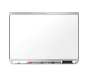 Quartet P554AP2 Prestige 2 Connects DuraMax Magnetic Porcelain Whiteboard, 48 x 36, Silver Frame by QUARTET MFG.