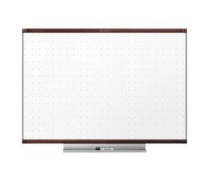 Quartet TE544MP2 Prestige 2 Total Erase Whiteboard, 48 x 36, Mahogany Color Frame by QUARTET MFG.