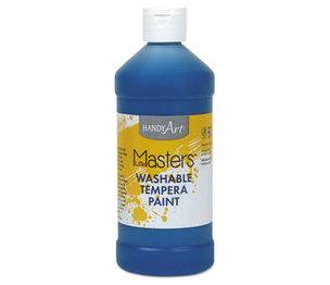 Rock Paint Distribution Corp 211-730 Washable Paint, Blue, 16 oz by ROCK PAINT DISTRIBUTING CORP.