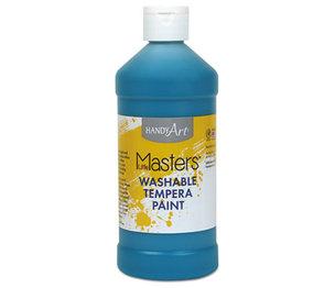 Rock Paint Distribution Corp 211-735 Washable Paint, Turquoise, 16 oz by ROCK PAINT DISTRIBUTING CORP.