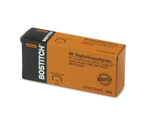 """Stanley-Bostitch Office Products STCRP21151/4 B8 PowerCrown Premium Staples, 1/4"""" Leg Length, 5000/Box by STANLEY BOSTITCH"""